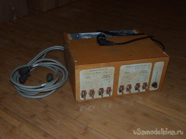 Блок питания для ламповых, усилителя мощности и винил корректора