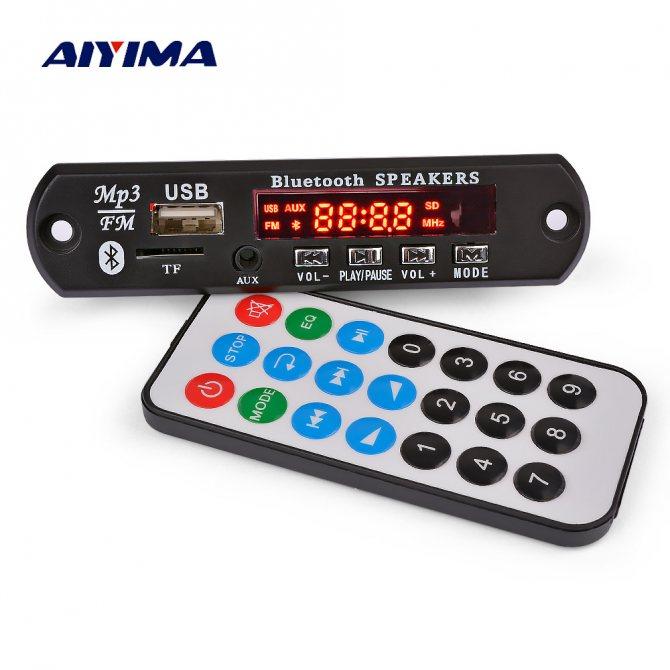 Bluetooth-усилитель звука Aiyima