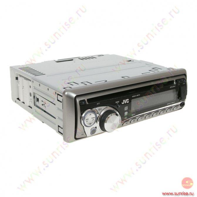 CD автомагнитола JVC KD-G441.
