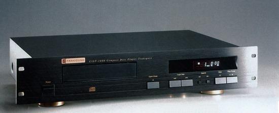 CD-проигрыватель Parasound C/DP-1000