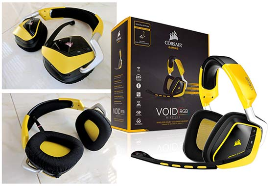 Corsair Gaming Void PRO RGB Wireless SE Dolby 7.1: фото