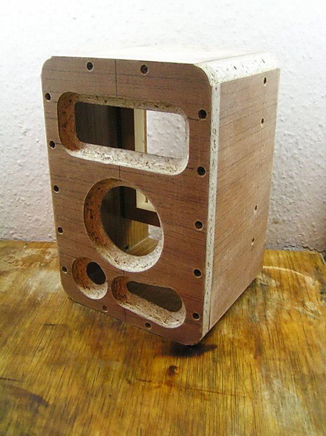 деревянный корпус УНЧ