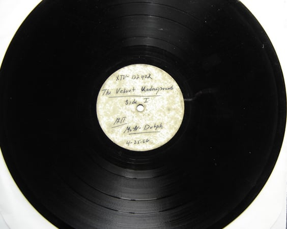 Диск «Velvet Underground and Nico»