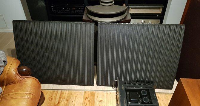Электростатическая акустика Quad ESL-57