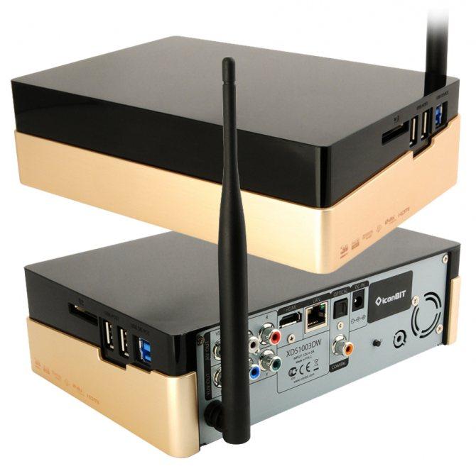 iconBIT XDS1003DW - многофункциональный HD-медиаплеер с отсеком для HDD