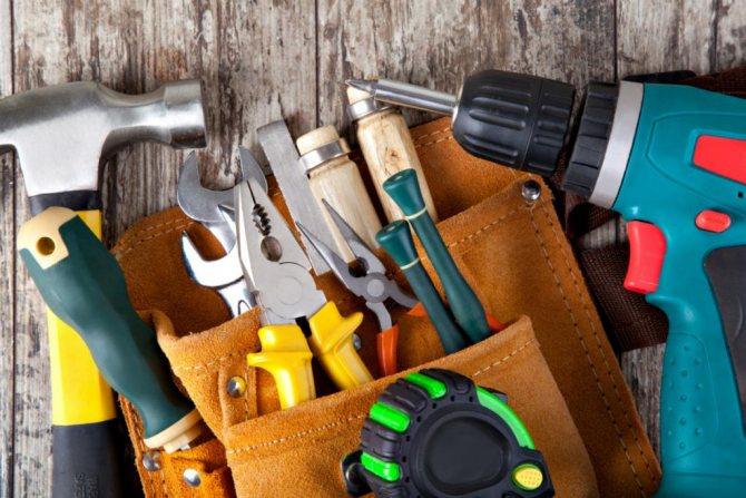 Инструменты для строительства.