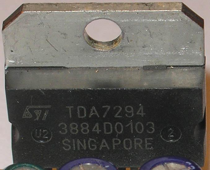 Измерительный усилитель мощности на TDA7294
