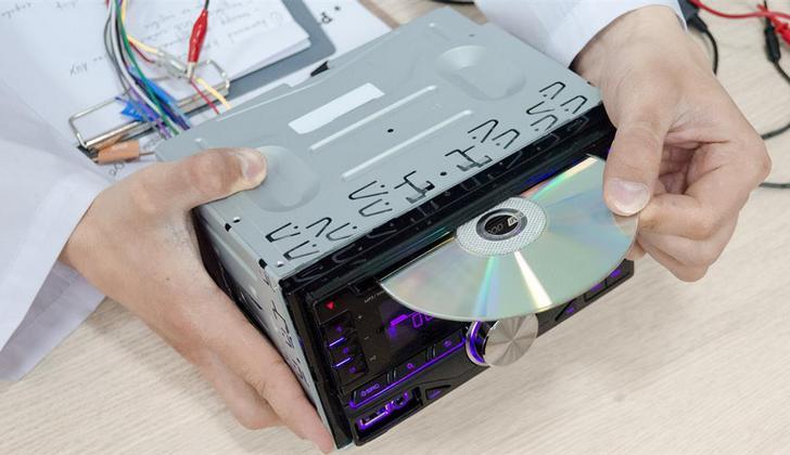 Извлечение компакт-диска