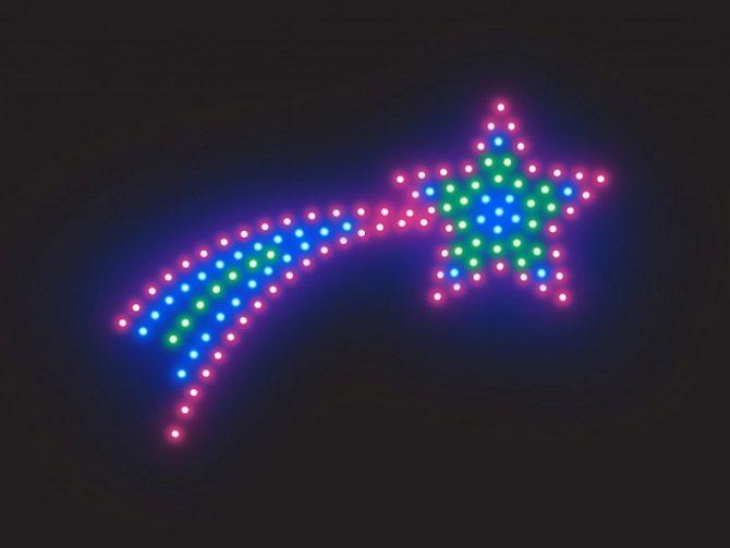 Как определить полярность светодиодов