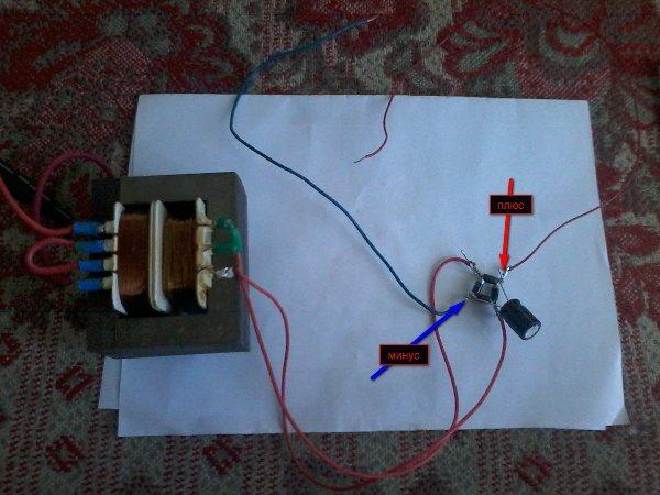 Как сделать блок питания для автомагнитолы и подключить магнитолу от компьютера своими руками?