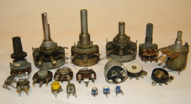 Как увеличить сопротивление переменного резистора