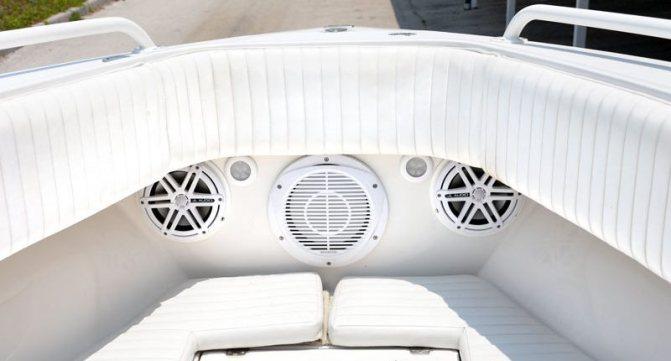 Коаксиальная акустика на яхте