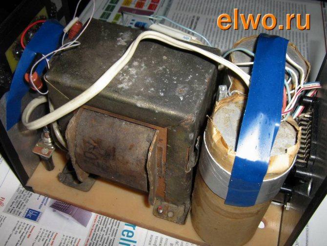 корпус блока питания лампового усилителя