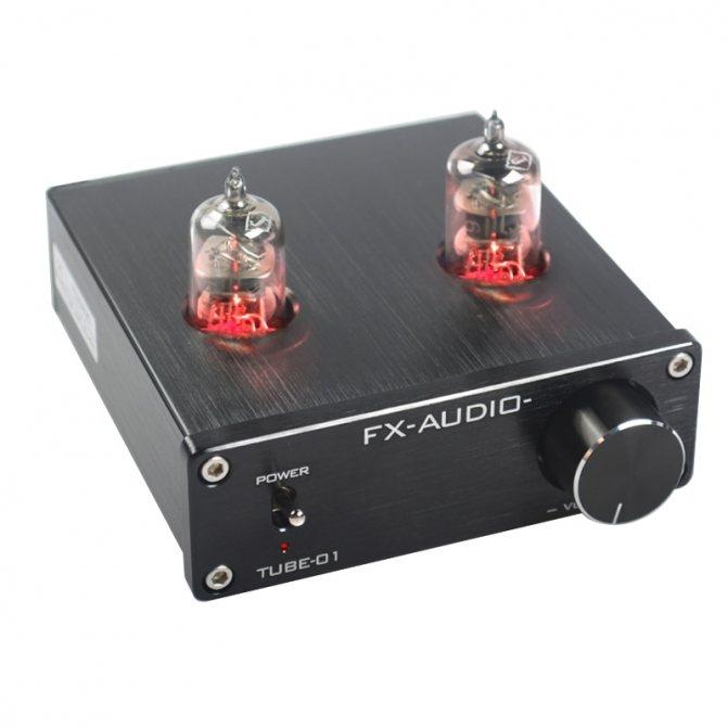 Ламповый усилитель звука FXAUDIO