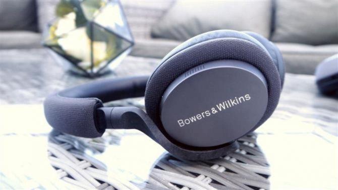 лучшие наушники с шумоподавлением Bowers