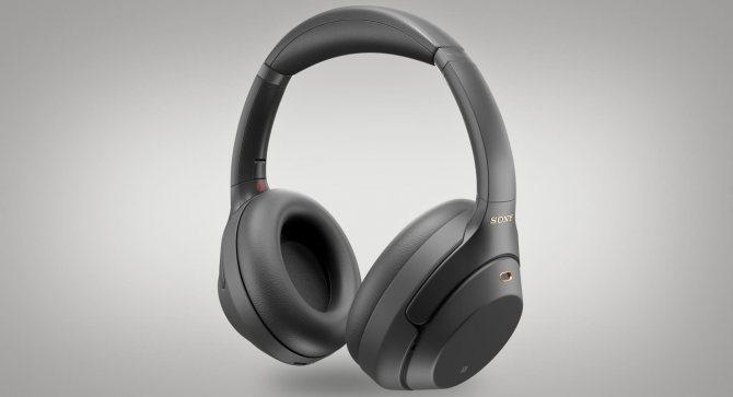 лучшие наушники с шумоподавлением Sony WH-1000XM3