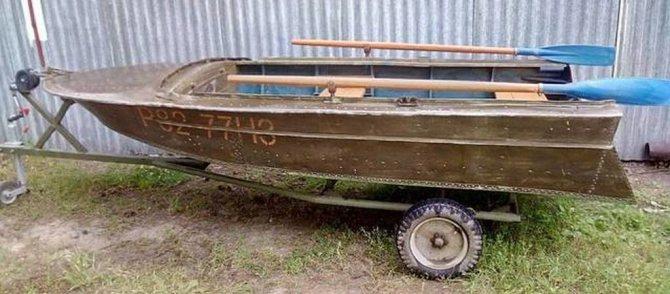 """'Моторно-весельная лодка """"Вега""""' width=""""715"""