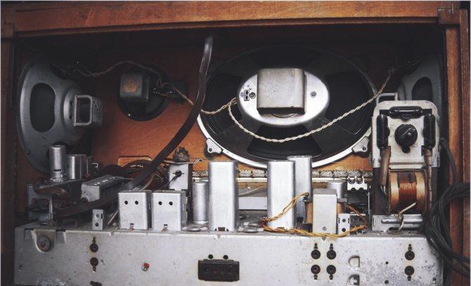 неисправности ламповых радиоприёмников
