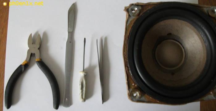 Необходимые инструменты для ремонта гибких жгутиков