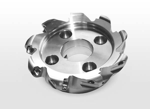 Образцы изделий 5- осевого фрезерного центра DMU 50. Корпус фрезы из нержавеющей стали