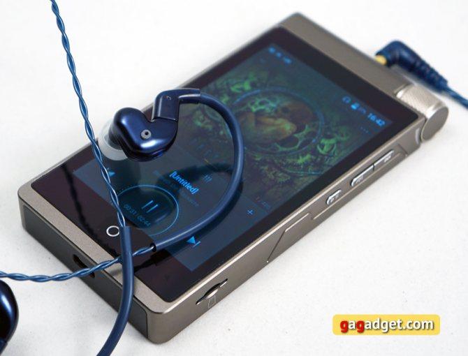 Обзор Cayin i5: Hi-Fi плеер на Android с кучей дополнительных функций-5