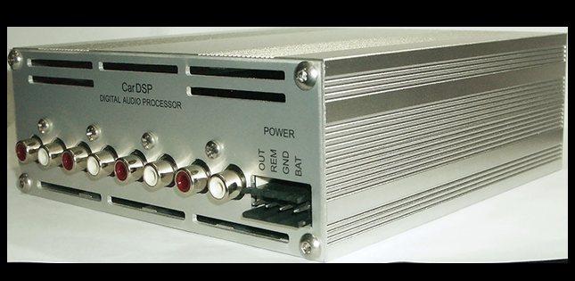 процессор CarDSP Case Rear
