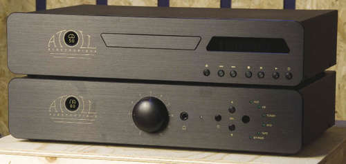 Проигрыватель Atoll Electronique CD 50SE и усилитель IN 80SE