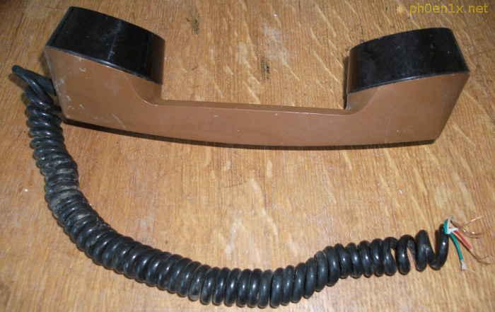 Провод от телефонной трубки - донор для изготовления гибких жгутиков