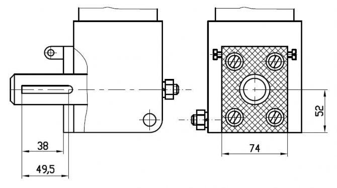 Резцовая головка долбежного станка ГД200
