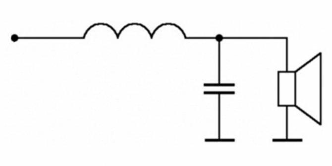 сделать фильтр низких частот для сабвуфера