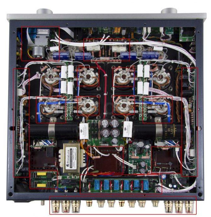 Схема PrimaLuna DiaLogue Premium HP Int