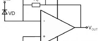 Схема включения ТИОУ