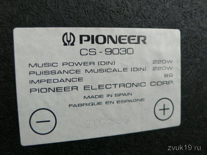 Шильдик Pioneer CS-9030