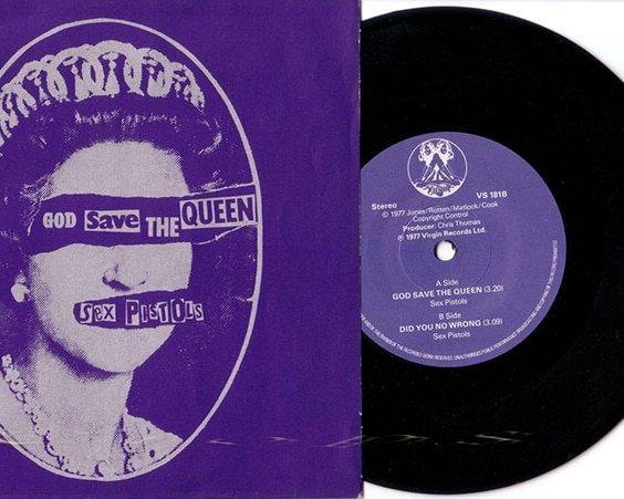 Сингл «God Save the Queen»