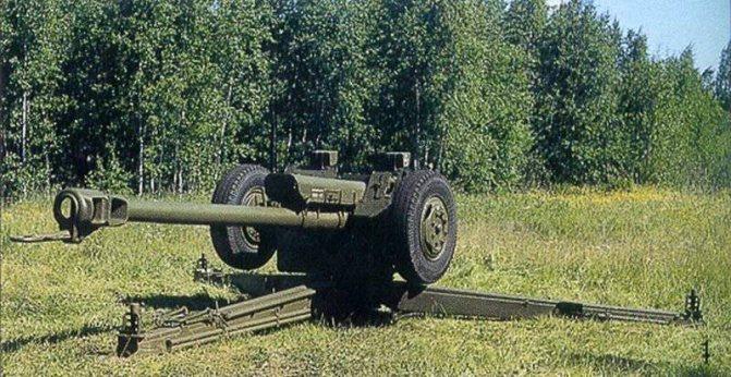 Советская гаубица Д-30 калибра 122 мм