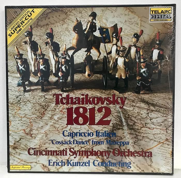 Современное издание Tchaikovsky 1812 Overture, Capriccio Italien