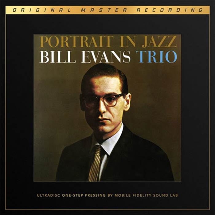 Современное издание The Bill Evans Trio Portrait in Jazz