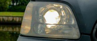 Subaru Legacy фара