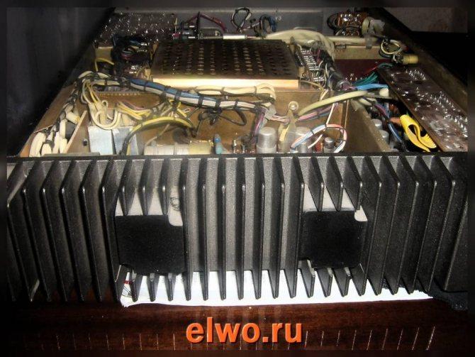 транзисторы с радиатором УМЗЧ кумир