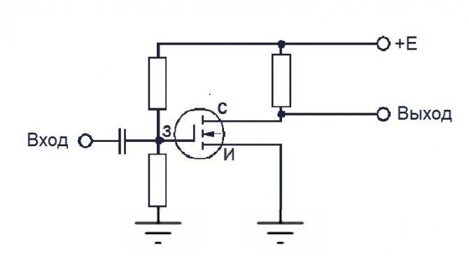 УНЧ на полевом транзисторе