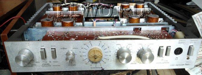 усилитель - Амфитон-002, ремонт