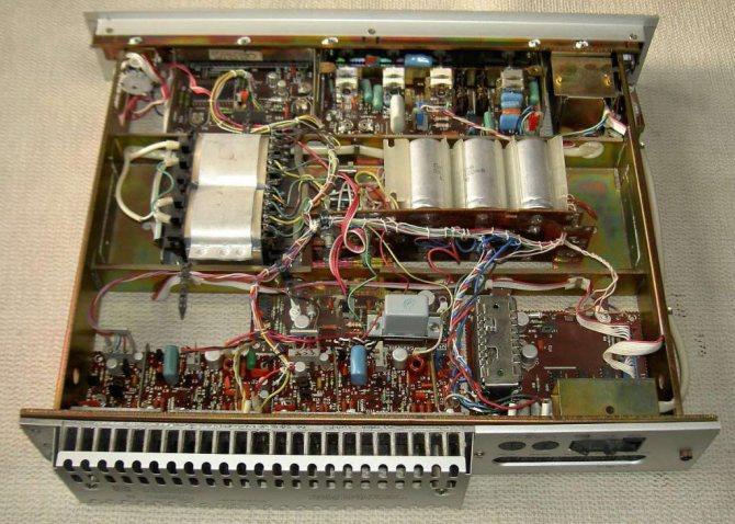 усилитель радиотехника характеристики