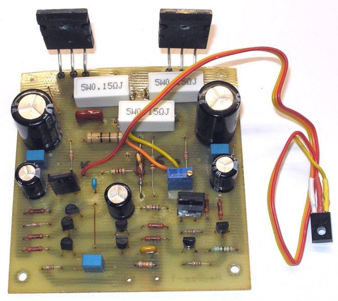 Усилитель с полевыми транзисторами