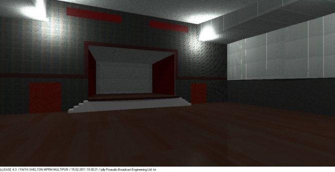 Вид помещения для проведения дискотек и концертов (стало).